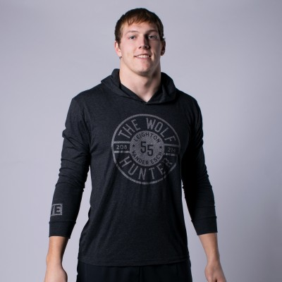 Wolf Hunter Seal Tri-Blend Hoodie
