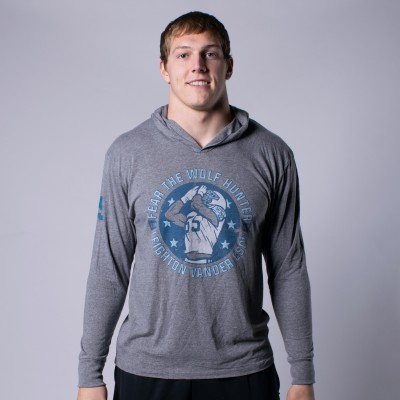 Spirit of the Wolf Tri-Blend Hoodie