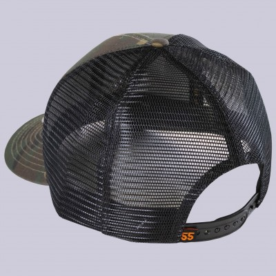 PVC Seal Patch Meshback Cap