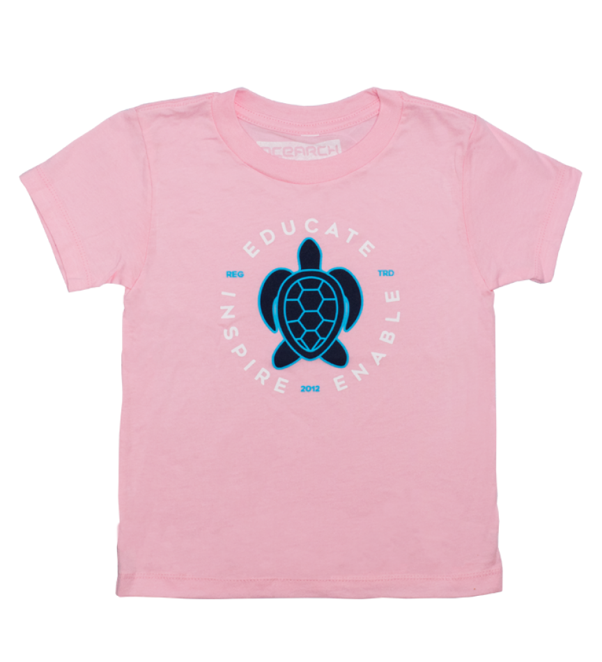 Toddler Turtle Tee - Pink