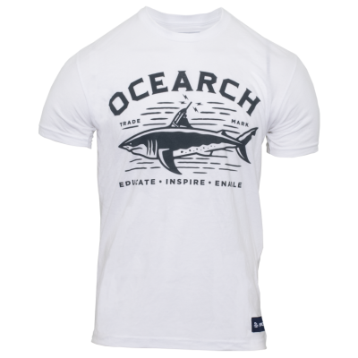 Men's Tracker Sueded Tee - White
