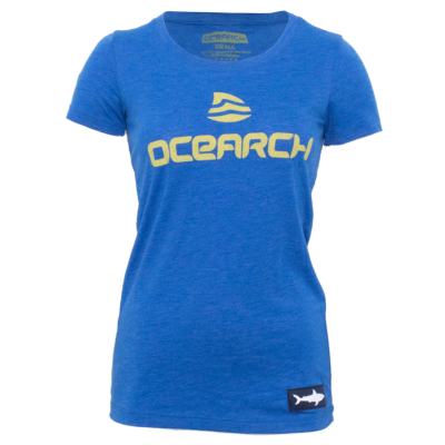 Women's Logo TriBlend Tee - Royal