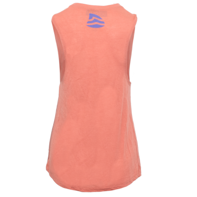 Women's Logo Flowy Muscle Tank - Sunset