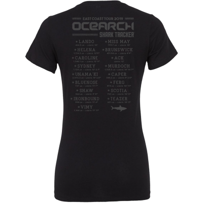Ladies Ocearch 2019 Year in Review Tee