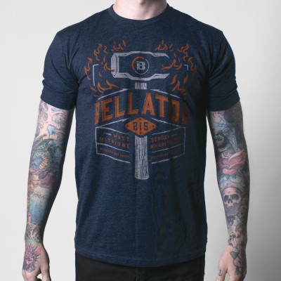 Bellator 215 Flaming Sledge Tee