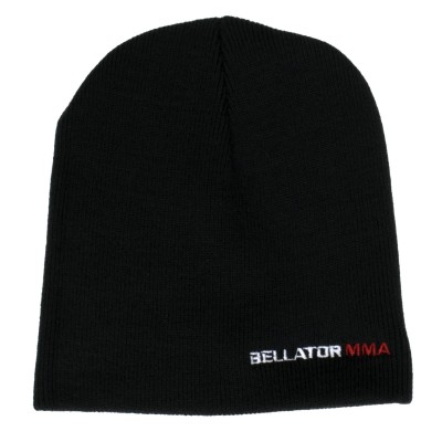 BELLATOR WORDMARK BEANIE - BLACK