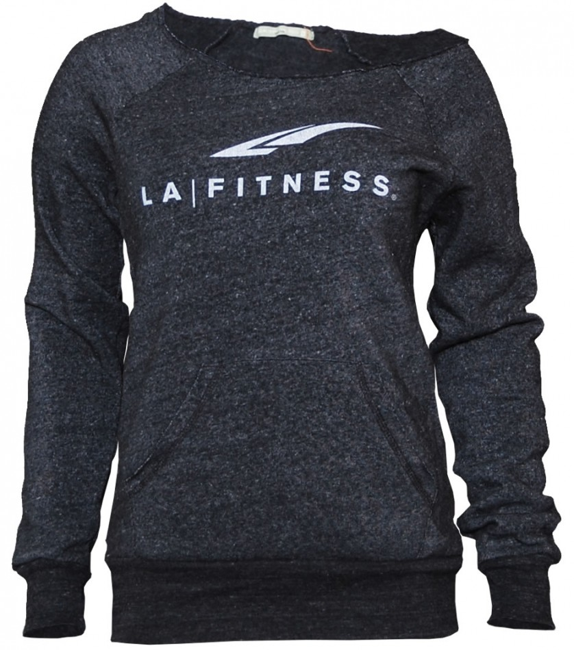LADIES CUTOFF ECO-FLEECE