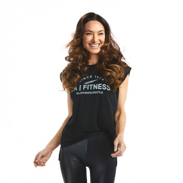 Lifestyle Flowy Muscle Tee