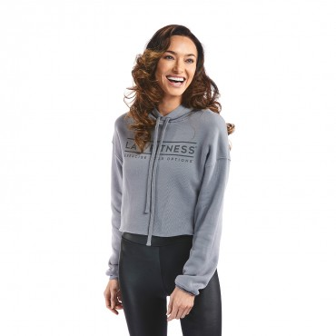 Options Women's Cropped Fleece Hoodie